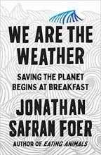 omslag boek We are the Weather
