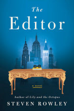 omslag boek The Editor