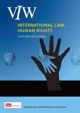 omslag boek International law, human right and other relevant documents