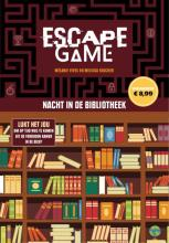 omslag boek Escape game - Nacht in de bibliotheek