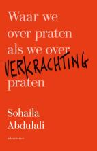 omslag boek Waar we over praten als we over verkrachting praten