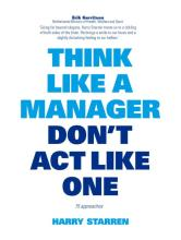 Boekomslag Think like a manager don't act like one