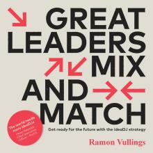 Boekomslag Great leaders mix and match
