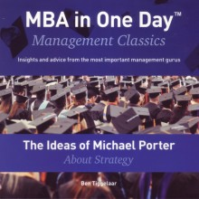omslag boek The Ideas of Michael Porter About Strategy