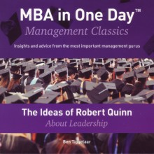 omslag boek The Ideas of Robert Quinn About Leadership