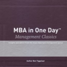 omslag boek MBA in One Day - Management Classics - Box with 10 audiobooks