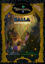 omslag boek Balla and the Forest of Legends