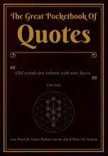 omslag boek The Great Pocketbook Of Quotes