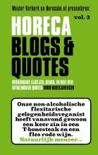 omslag boek Horeca Blogs & Quotes vol.3