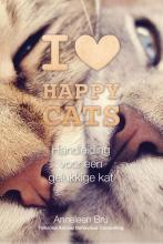 omslag boek I love happy cats