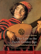 omslag boek The lute in the Dutch Golden Age