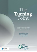 Boekomslag The Turning Point: A Novel about Agile Architects Building a Digital Foundation