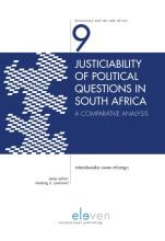 omslag boek Justiciability of Political Questions in South Africa