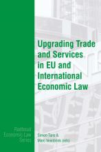 omslag boek Upgrading Trade and Services in EU and International Trade Law