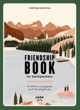omslag boek Friendship book for Backpackers