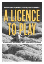 omslag boek A licence to play