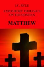 Boekomslag EXPOSITORY THOUGHTS ON THE GOSPELS
